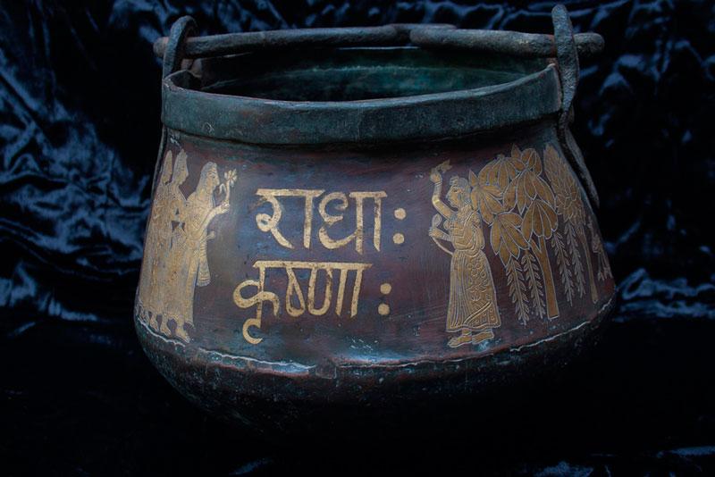 Gold Leaf Pot